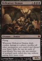 Rise of the Eldrazi Foil: Hellcarver Demon