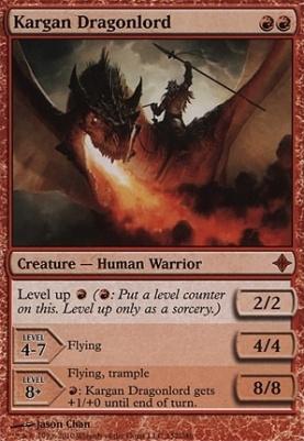 Rise of the Eldrazi Foil: Kargan Dragonlord