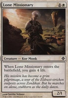 Rise of the Eldrazi: Lone Missionary