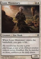 Rise of the Eldrazi: Lone Missionary