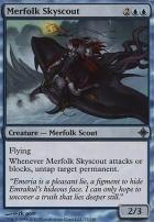 Rise of the Eldrazi Foil: Merfolk Skyscout