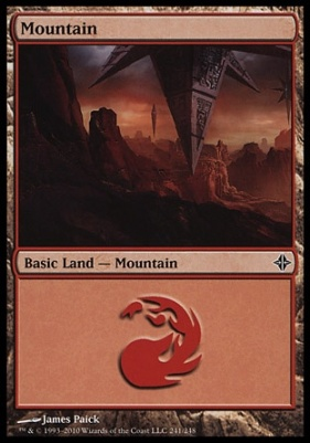 Rise of the Eldrazi: Mountain (241 A)