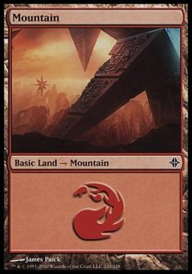 Rise of the Eldrazi: Mountain (243 C)