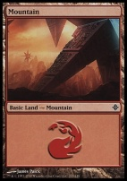 Rise of the Eldrazi: Mountain (243 C)