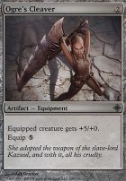 Rise of the Eldrazi Foil: Ogre's Cleaver