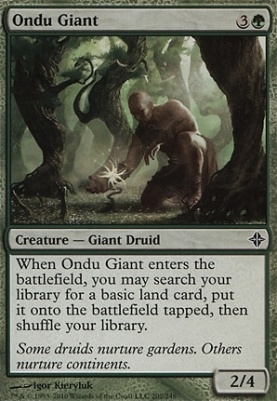 Rise of the Eldrazi: Ondu Giant