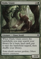 Rise of the Eldrazi Foil: Ondu Giant