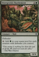 Rise of the Eldrazi Foil: Overgrown Battlement