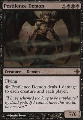 Rise of the Eldrazi Foil: Pestilence Demon