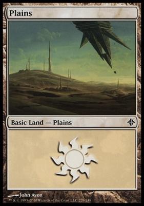 Rise of the Eldrazi: Plains (229 A)