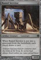 Rise of the Eldrazi Foil: Runed Servitor