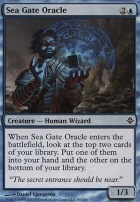 Rise of the Eldrazi Foil: Sea Gate Oracle