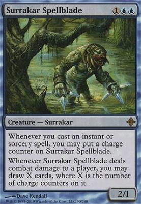 Rise of the Eldrazi: Surrakar Spellblade