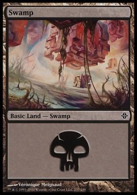 Rise of the Eldrazi: Swamp (237 A)