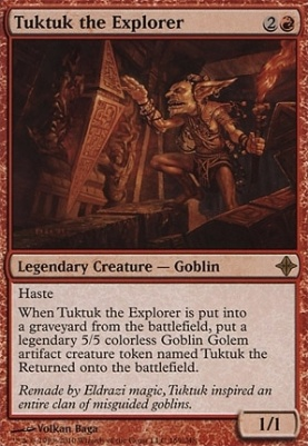 Rise of the Eldrazi: Tuktuk the Explorer