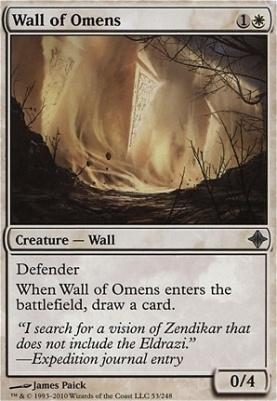 Rise of the Eldrazi: Wall of Omens
