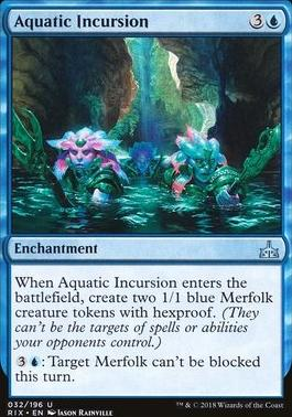 Rivals of Ixalan Foil: Aquatic Incursion