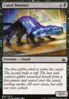 Rivals of Ixalan Foil: Canal Monitor