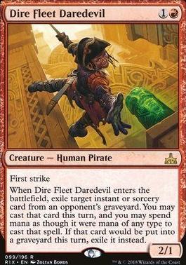 Rivals of Ixalan: Dire Fleet Daredevil