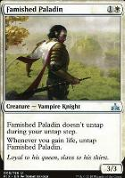 Rivals of Ixalan Foil: Famished Paladin
