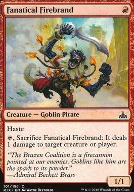 Rivals of Ixalan: Fanatical Firebrand