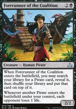 Rivals of Ixalan: Forerunner of the Coalition