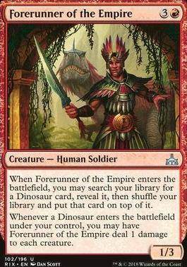Rivals of Ixalan: Forerunner of the Empire