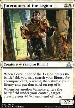 Rivals of Ixalan: Forerunner of the Legion