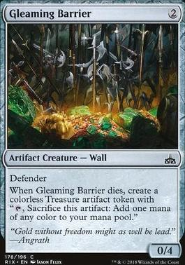 Rivals of Ixalan: Gleaming Barrier