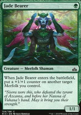 Rivals of Ixalan: Jade Bearer