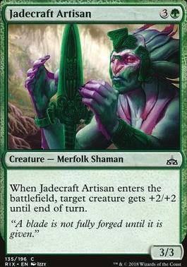 Rivals of Ixalan: Jadecraft Artisan