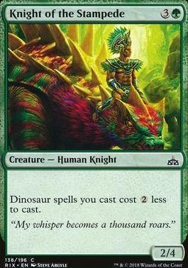 Rivals of Ixalan: Knight of the Stampede