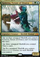 Rivals of Ixalan: Kumena, Tyrant of Orazca