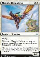 Rivals of Ixalan Foil: Majestic Heliopterus