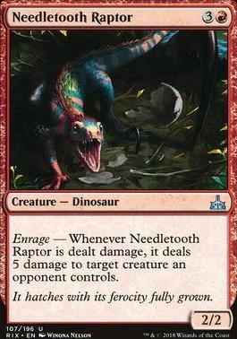 Rivals of Ixalan: Needletooth Raptor