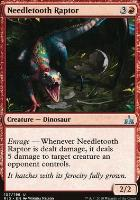 Rivals of Ixalan: Needletooth Raptor
