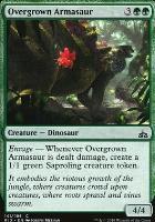 Rivals of Ixalan Foil: Overgrown Armasaur