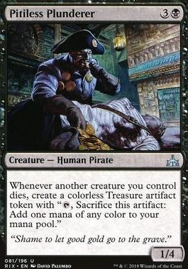 Rivals of Ixalan: Pitiless Plunderer
