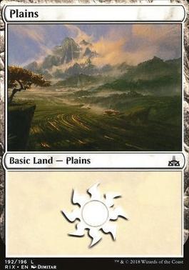 Rivals of Ixalan: Plains (192 A)