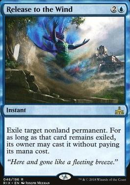 Rivals of Ixalan: Release to the Wind