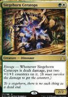 Rivals of Ixalan: Siegehorn Ceratops