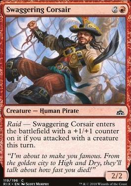 Rivals of Ixalan: Swaggering Corsair