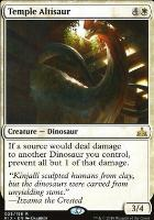 Rivals of Ixalan Foil: Temple Altisaur