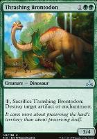 Rivals of Ixalan: Thrashing Brontodon