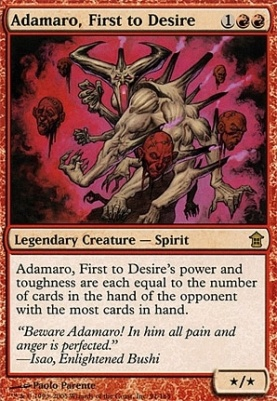 Saviors of Kamigawa: Adamaro, First to Desire
