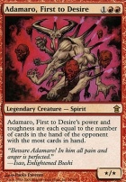Saviors of Kamigawa Foil: Adamaro, First to Desire