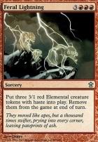 Saviors of Kamigawa: Feral Lightning
