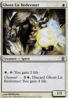 Saviors of Kamigawa: Ghost-Lit Redeemer