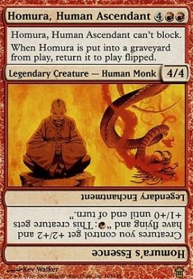 Saviors of Kamigawa Foil: Homura, Human Ascendant