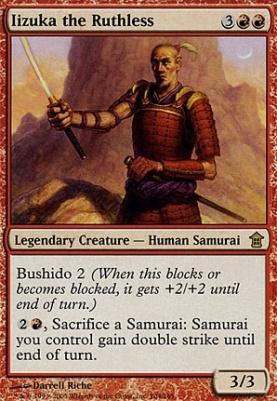 Saviors of Kamigawa Foil: Iizuka the Ruthless